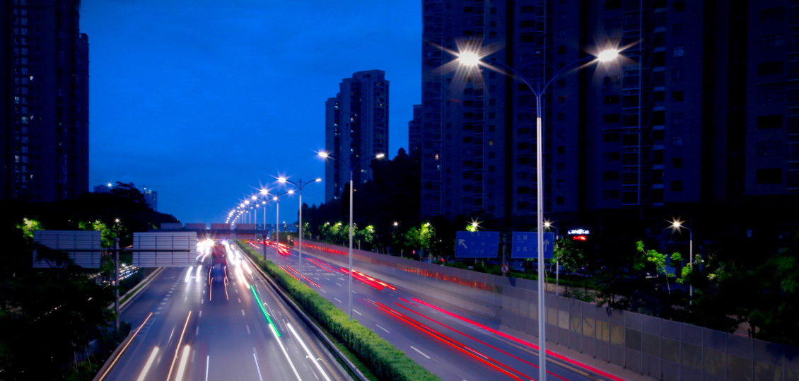 Main Road Lighting Project in Longgang District, Shenzhen