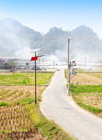 Rural Road Solar Street Lighting Project, Tongdao County