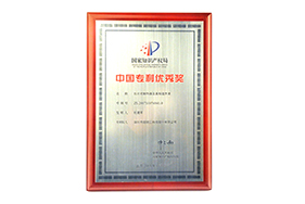 China Patent Excellence Award