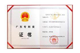 Guangdong Patent Award