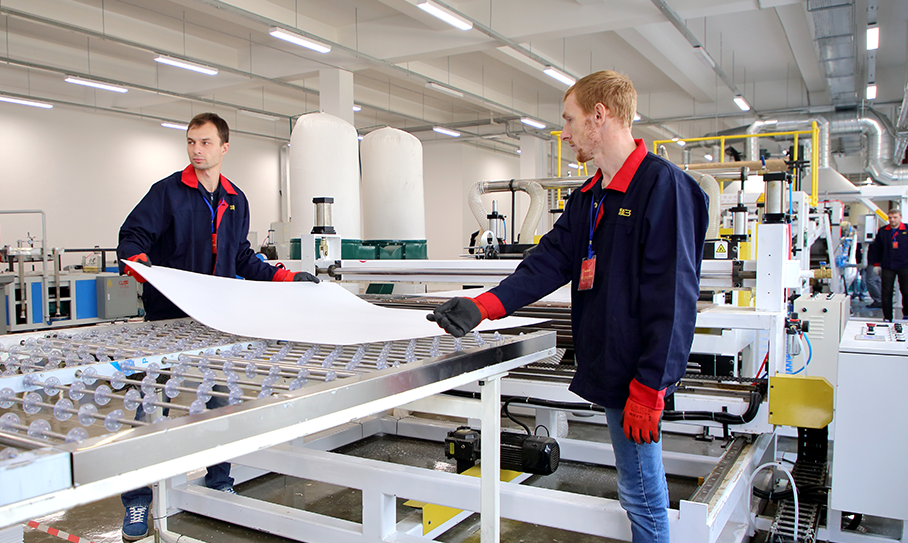 Production Base at Great Stone Industrial Park of Belarus